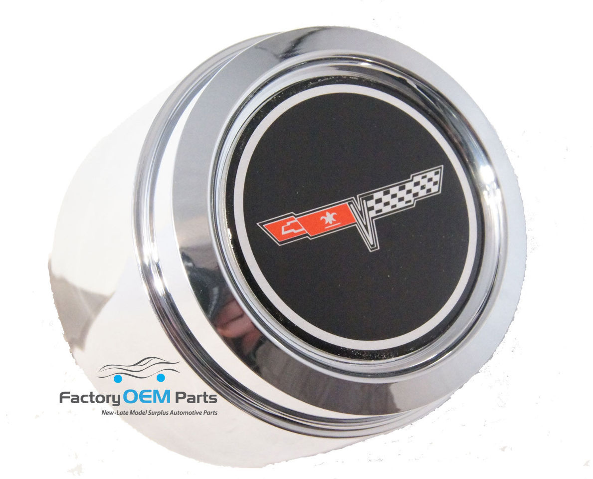 1980 1981 Corvette Center Cap Aluminum Wheel Gm