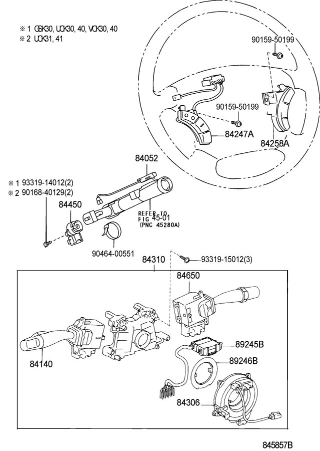 8424758020b0 2004 2007 toyota land cruiser steering wheel gray audio switch new 8424758020b0 5 toyota steering wheel control wiring diagram toyota wiring toyota steering wheel control wiring diagram at aneh.co