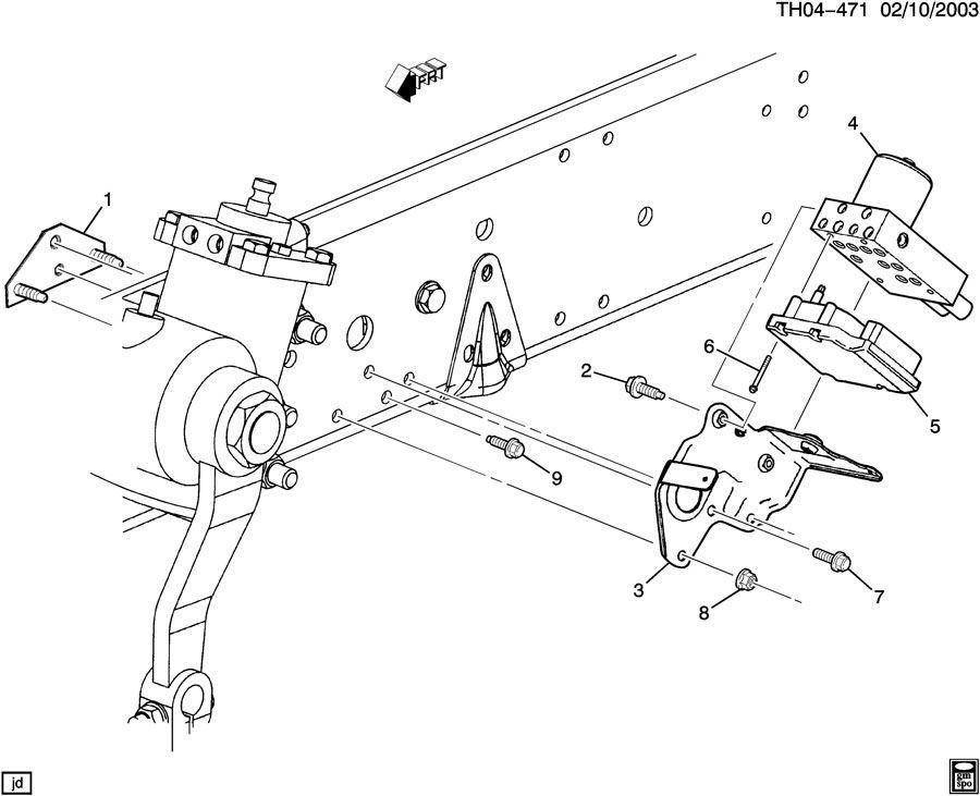 Chevrolet Topkick Kodiak Ebcm Brake Control Module Valve