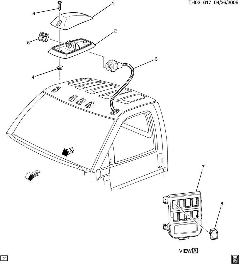 2003 09 topkick kodiak c4500 c8500 chassis marker light. Black Bedroom Furniture Sets. Home Design Ideas