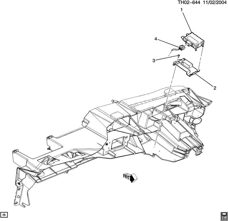 2004 kodiak c  t6500 t8500 body control module 94666786 94667788