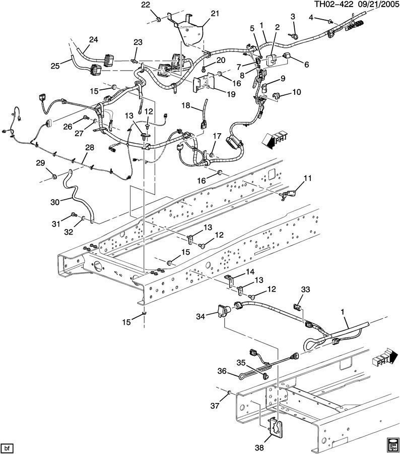 2003 Chevy Impala Wiring Harness Diagram