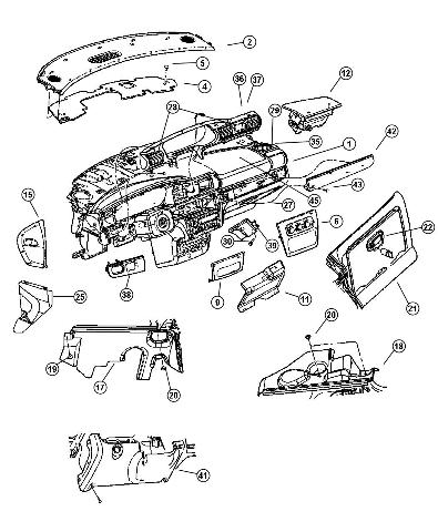 2000 Sebring Strut Diagram