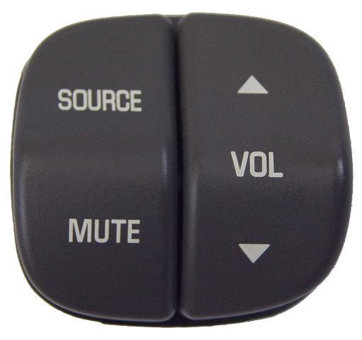 2002-2007 Buick Lesabre Rendezvous Steering Wheel Audio Switch Gray New 12451286