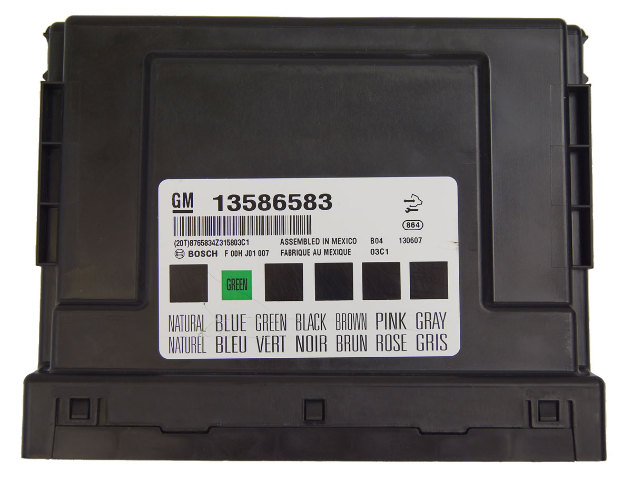 details about 2010-2014 gm chevy buick cadillac bcm body control module  computer new 13586583
