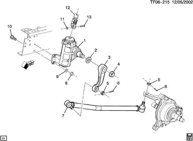 2004 2009 topkick kodiak t6500 t8500 steering connecting rod rh ebay com GMC T8500 Visor GMC T8500 Tandem