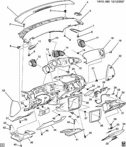 Limited Monte Carlo Rh Dash Insulator Panel
