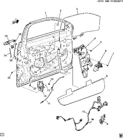20815384 25967075 2011 buick lucerne wire harness lf driver side door new oem 20815384 25967075 4 2009 lucerne wiring diagram friendship bracelet diagrams buick lucerne wiring diagram at cos-gaming.co
