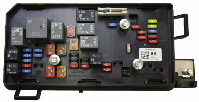 20838678 2009 11 cadillac dts buick lucerne fuse block new oem 20838678 25865468 25865463 2 ebay fuse relay box 2008 buick lucerne buick wiring diagram gallery 2008 Buick Lucerne CXL at webbmarketing.co