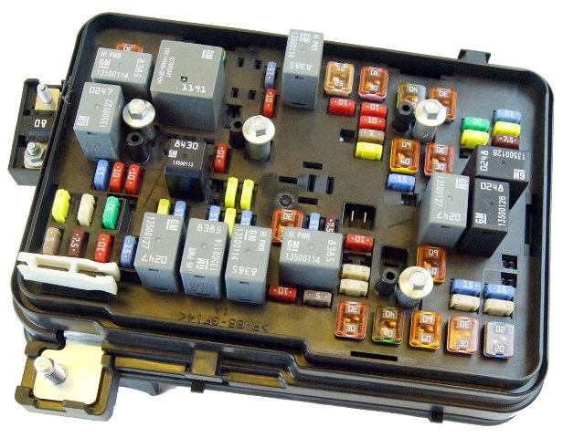 2011 2012 gmc terrain equinox 2 4l engine compartment fuse block box rh ebay com 2012 equinox fuse box diagram 2005 chevy equinox fuse box
