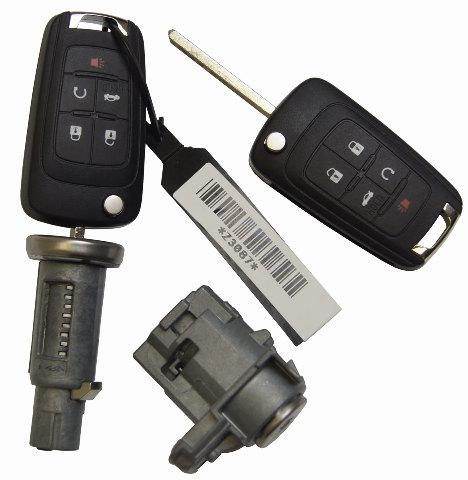 2011-2017 Buick LaCrosse Regal Verano Key FOBs Door/Ignition Locks New 23138170  sc 1 st  Factory OEM Parts & 2011-2017 Buick LaCrosse Regal Verano Key FOBs Door/Ignition Locks ...