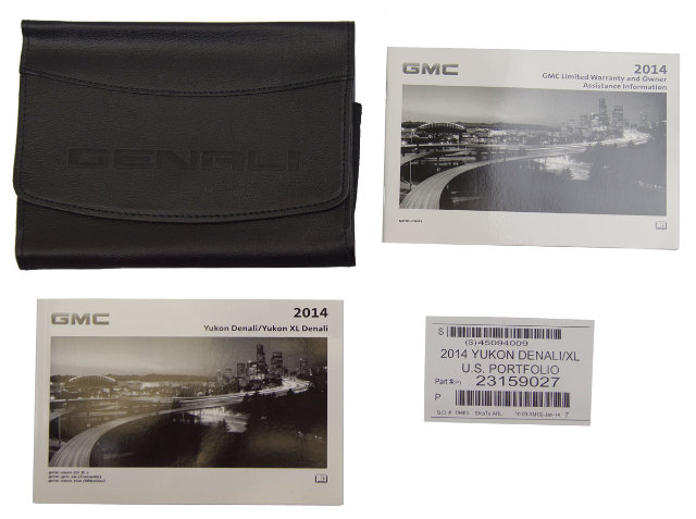 Gmc Yukon Denali Yukon Xl Denali Owners Manual Booklet Leather Pouch on 1997 Buick Lesabre Park Light Fuse