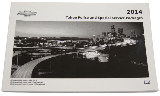 Chevrolet Tahoe Police Special Service Packages Owners Manual New Oem on 2001 Mitsubishi Galant No Heat
