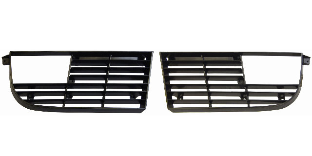 1975-1979 Chevy Corvette C3 Grille Pair LH & RH Black 2565L 2565R 345487 345488