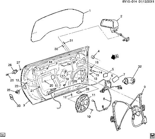 2009 cadillac xlr wire harness for side mirror window door lock XLR Cable Wiring click thumbnails to enlarge
