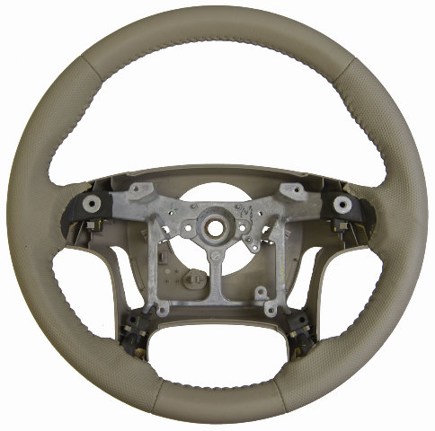 2011-2014 Toyota Sienna Steering Wheel Tan Leather W/Dimples New 4510008210E0