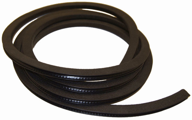 "5/16"" Pinch Weld Rubber Protector 10FT Section New OEM Black 70522001"