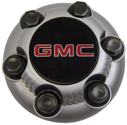 GMC Sierra Safari Savana Van Silver Wheel Center Cap 6 Lug