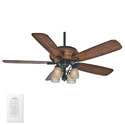 Casablanca 55051 heathridge 60aged steel 5 blade ceiling fan w click thumbnails to enlarge aloadofball Images