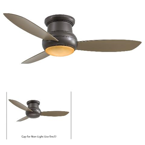 Minka aire f474 orb oil rubbed bronze concept ii 3 blade 1 light 52 click thumbnails to enlarge aloadofball Choice Image