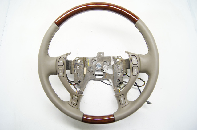 2000 2005 Cadillac Deville Seville Steering Wheel Wheat