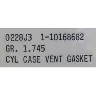 1990-1995 Chevrolet Corvette C4 ZR1 LT5 Crankcase Gasket New OEM 10168682