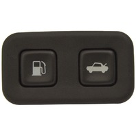 2004-2009 Cadillac XLR Trunk Release Button & Fuel Door Button Black 10335750