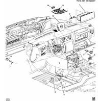 2008-2009 Hummer H2 Genuine OEM Air Bag Airbag Impact Crash Sensor New 10366053