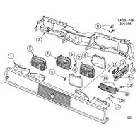 1982-2014 GM Headlight Adjustment Screw 15714775 New OEM 00557057