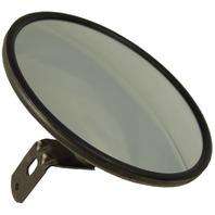 """8"""" Circle Outside Rear View Side Hood/Fender Aux Blind Spot Mirror W/Bracket New"""