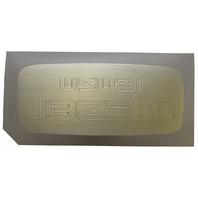 2007-09 GMC Topkick C6500-C8500 Isuzu Diesel Nameplate Badge Label New 15952369