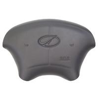 1998-2002 Oldsmobile Intrigue Steering Wheel Center Airbag Cover Dark Grey New