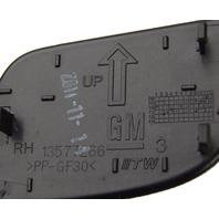 2010-2014 GM Inside Door Handle Cap Right Side RH New OEM Black 20953622
