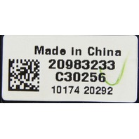 2011 GM Silverado Sierra 2500HD 3500HD Switch Assy New OEM 22778097 20983233
