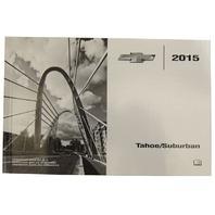 2015 Chevrolet Tahoe/Suburban US Owners Manual New OEM 22953721 22953640