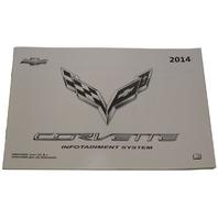 2014 Chevrolet Corvette C7 Infotainment System Booklet New OEM 23127539