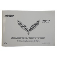 2017 Chevy Corvette C7 MyLink Infotainment System Manual US New OEM 23214008
