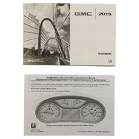 2015 GMC Canyon US Owners Manual Booklet New OEM 23356083 23356089