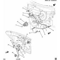 2007-2010 Saturn Sky Pontiac Solstice Slave Cylinder Turbo Redline GXP 24234308