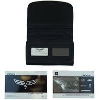 2009 Corvette Owners Manual Warranty Books Glove Box Pouch Canada Models 25788983