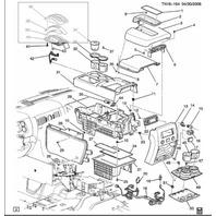 2008 2009 hummer h2 floor console wiring harness new oem 25828438 rh factoryoemparts com Hummer H4 Hummer H1