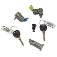 2007-2010 Saturn Sky Ignition+Doors+Glove Box Lock Cylinders W/2 Keys OEM New
