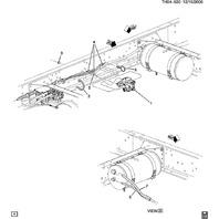 2006-2009 Topkick/Kodiak C7500-C8500 Air Brake Valve New OEM Bendix 25910633