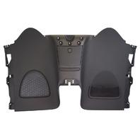2010 Saturn SKY Convertible Seat To Back Window Panel Black New OEM 25993657