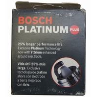 Bosch Platinum Plus Spark Plugs #4013 Pack of 4 NOS