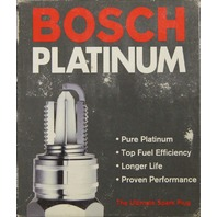 Bosch Platinum Spark Plugs #4221 Pack of 4 NOS