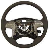 2007-11 Toyota Camry Steering Wheel Ash Brown Leather New Complete 4510006D90E0
