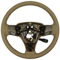 2007-2008 Toyota Solara Steering Wheel Ivory Leather New OEM Cruise Audio/Phone