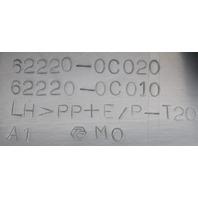 2004-2006 Toyota Tundra Left A-Pillar Interior Trim Grey 622200C010B1