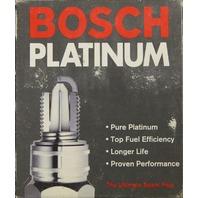 Bosch Platinum Spark Plugs #6241 Pack of 4 NOS